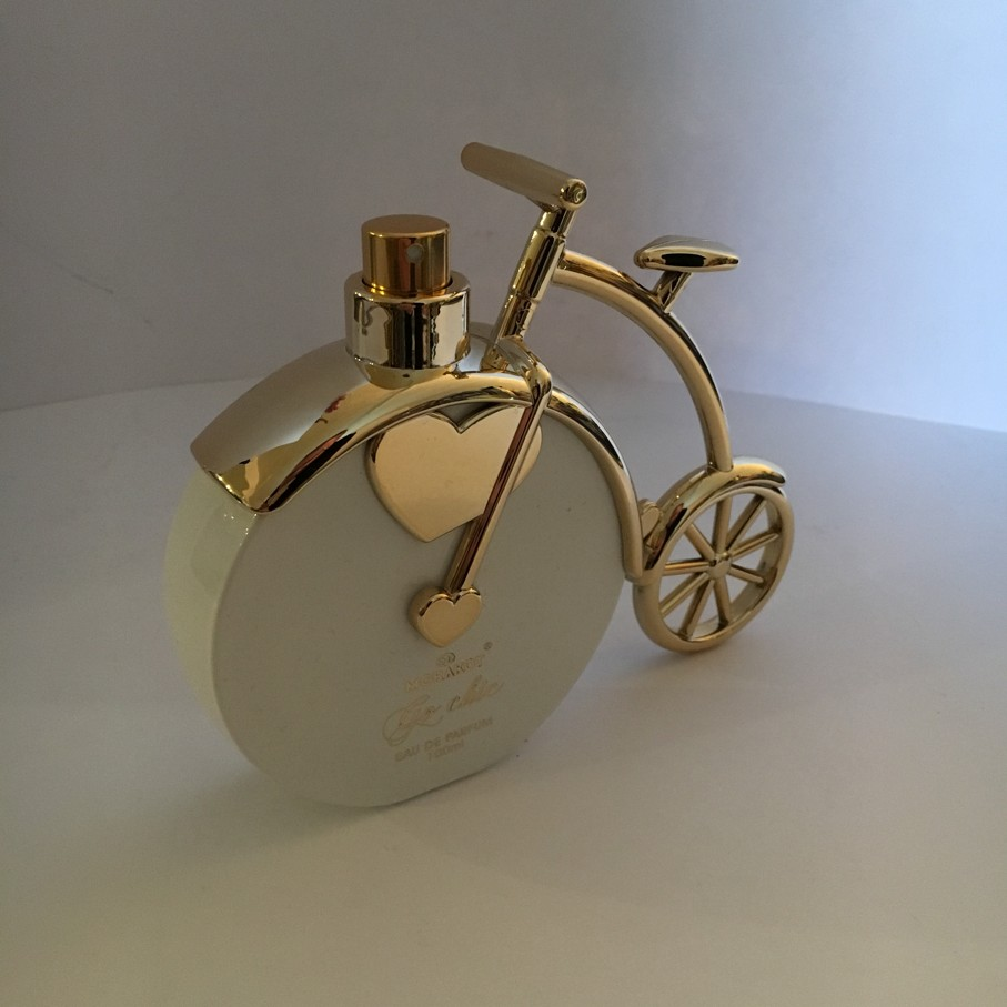 Bicykl White & Gold